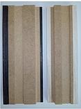 Плинтус Прямоугольный 6 Эко-шпон  60 мм (2070 мм) фабрики Verto, фото 4