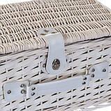 """Пикник корзина для 4 персоны """"Клетка"""" (0503-004), фото 3"""