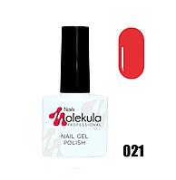 Гель-лак для ногтей Molekula 11мл №021 Красно кирпичный