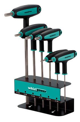 Набор ключей-шестигранников HEX Whirlpower 151-0106, 6 ед., фото 2