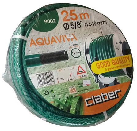 """Шланг для полива Claber Aquaviva 9002, 25 м 5/8"""" зеленый, фото 2"""