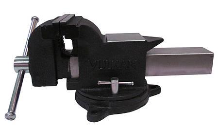 Тиски Vulkan MPV1-250 слесарные поворотные 250 мм, фото 2