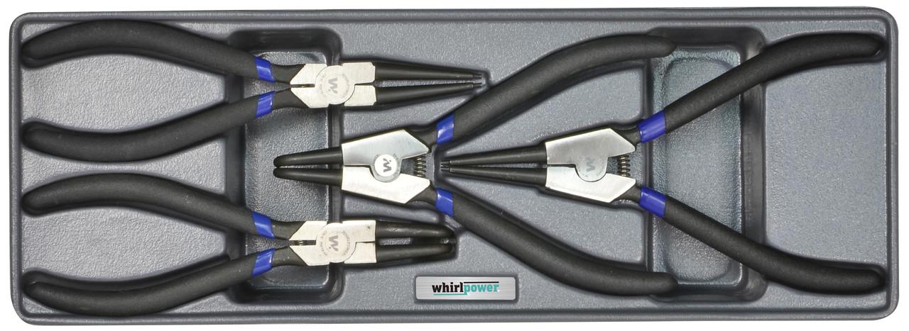 Набор съемников стопорных колец Whirlpower AN-PL02 4 ед.