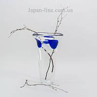 Ваза стеклянная Sakura SK-4106 190х320 мм для цветов