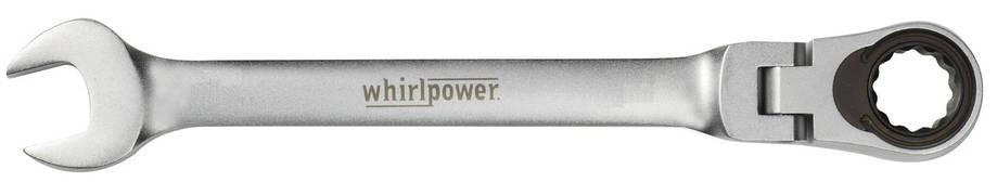 Ключ-трещетка Whirlpower 19 мм с карданом, фото 2
