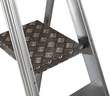 Стремянка ELKOP SHRP 806 алюминиевая, 6 ступеней, 2137 мм, фото 2