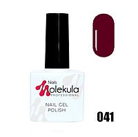 Гель-лак для ногтей Molekula 11мл №041 Темно-малиновый