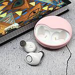 Беспроводные наушники bluetooth гарнитура Wi pods K10 наушники с микрофоном оригинал розовые, фото 3