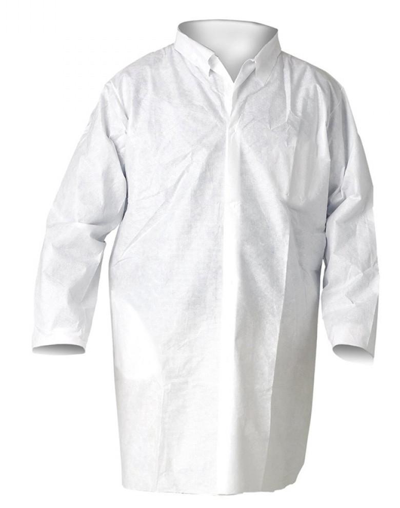 Халат лабораторный Vulkan полипропилен, белый (L)