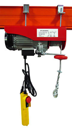 Таль электрическая VULKAN WY-400/800 1,3 кВт, фото 2