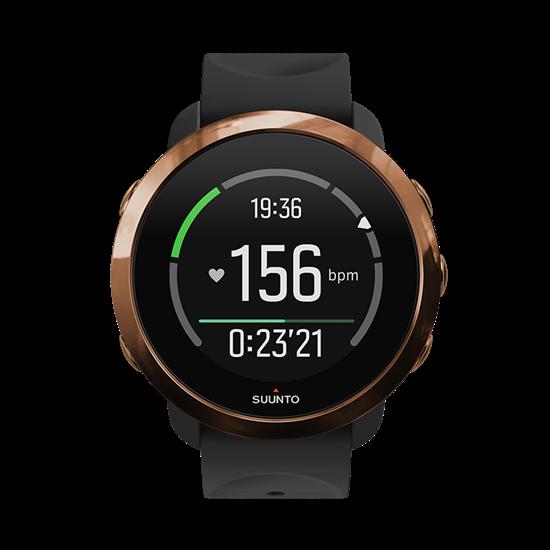 Смарт-часы для фитнеса и тренировок SUUNTO 3 FITNESS COPPER