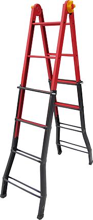 Лестница шарнирная ELKOP B 44 стальная, 1453 мм, фото 2