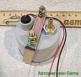 Эконометр вакуумметр разряжения автомобильный врезной стрелочный MPa под шланг (впуск коллектор) с подсветкой, фото 5