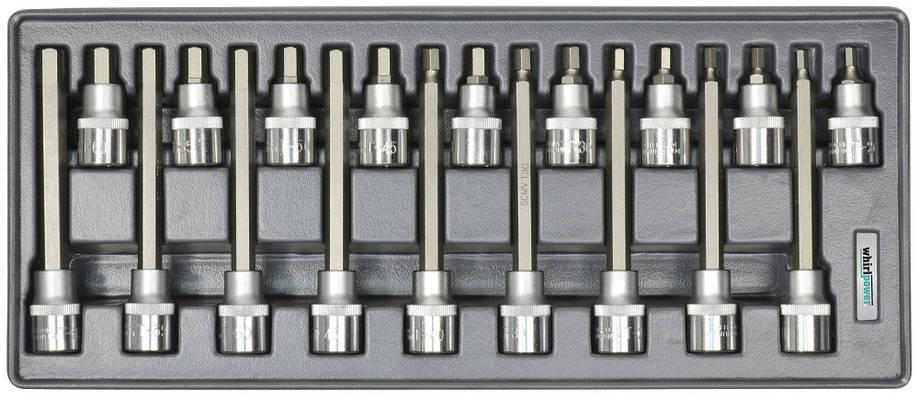 """Набор головок Whirlpower со вставкой Hex 1/2"""" Н5-Н19 18 ед. в ложементе, фото 2"""