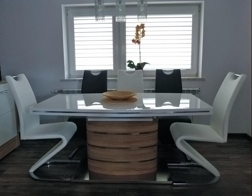 Стол обеденный Signal Fano 90x160(220) см Дуб сонома (FANOS)