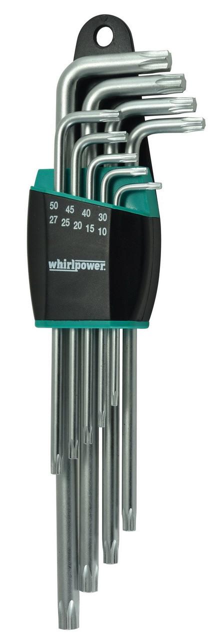 Набор ключей-звездочек TORX Whirlpower 158-1109 удлиненные 9 ед.