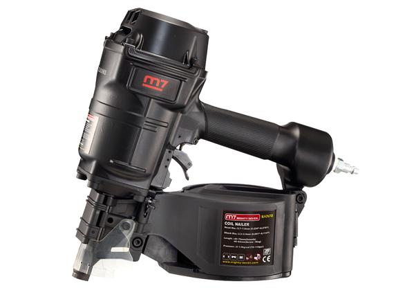 Пневмостеплер Mighty Seven SJ-CN70 для гвоздей, 45-70 мм, фото 2