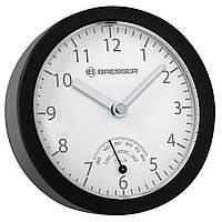 Часы c гигрометром Bresser MyTime Bath mini Black, фото 1