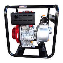 Мотопомпа дизельная Vulkan SCWPD80 для чистой воды, фото 3