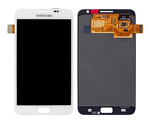 Модуль для Samsung N7000 Galaxy Note, Samsung I9220, белый, дисплей + сенсор