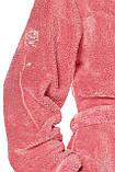 Короткий плюшевый халат L & L 2078 DORA, фото 5