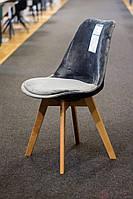 Стул Signal Dior velvet buk Серый (DIORVBUSZ), фото 1