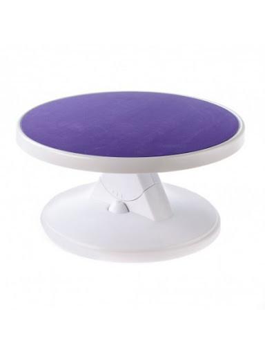 Столик вращающийся для декорирования пластик с наклоном