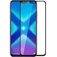 """Защитное стекло Full Glue """"OG"""" Premium в упаковке Huawei Honor 8X / Y9 2019 (Черный)"""