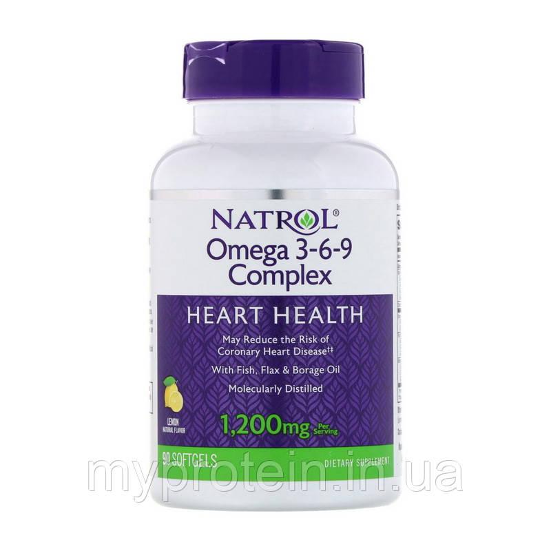 NatrolОмега 3Omega 3-6-9 1200 mg90 softgels