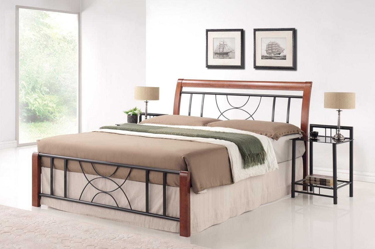 Двуспальная кровать Signal Cortina160X200 Черешня античная (CORTINA2)