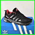 Мужские Кроссовки Adidas Fast Marathon Чёрные Адидас (размеры: 44) Видео Обзор, фото 2