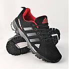 Мужские Кроссовки Adidas Fast Marathon Чёрные Адидас (размеры: 44) Видео Обзор, фото 10