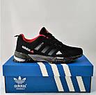 Мужские Кроссовки Adidas Fast Marathon Чёрные Адидас (размеры: 44) Видео Обзор, фото 3