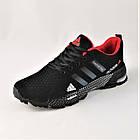 Мужские Кроссовки Adidas Fast Marathon Чёрные Адидас (размеры: 44) Видео Обзор, фото 7