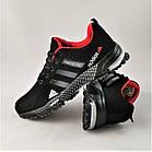 Мужские Кроссовки Adidas Fast Marathon Чёрные Адидас (размеры: 44) Видео Обзор, фото 8