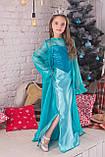 Платье принцессы Эльзы Фрозен Холодное сердце, фото 5