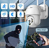 Уличная IP камера видеонаблюдения UKC CAMERA CAD N3 WIFI IP 360/90 2.0mp поворотная с удал. дост., фото 3