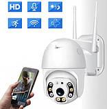 Уличная IP камера видеонаблюдения UKC CAMERA CAD N3 WIFI IP 360/90 2.0mp поворотная с удал. дост., фото 4