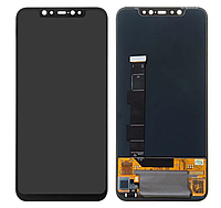 Модуль для Xiaomi Mi 8, черный, дисплей + сенсор