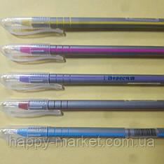"Ручка шариковая ""1 Вересня"" 410952 ""Silver"" (синяя)"