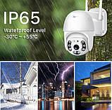 Уличная IP камера видеонаблюдения UKC CAMERA CAD N3 WIFI IP 360/90 2.0mp поворотная с удал. дост., фото 2