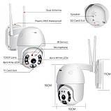 Уличная IP камера видеонаблюдения UKC CAMERA CAD N3 WIFI IP 360/90 2.0mp поворотная с удал. дост., фото 5
