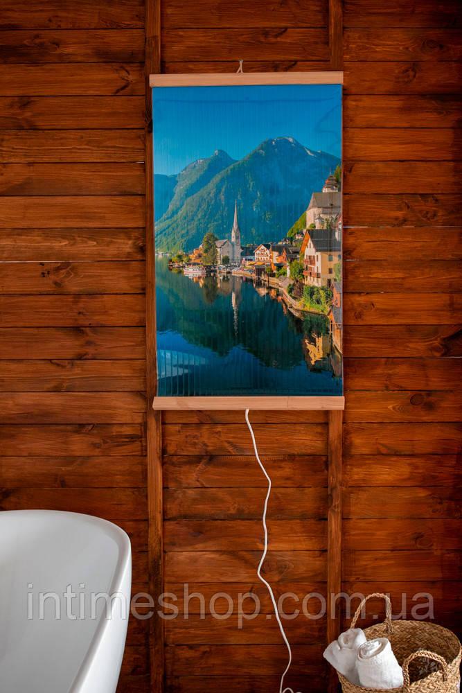 Картина обогреватель электрический (Горы) электрообогреватель Трио 00117