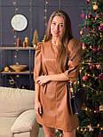Женское платье из эко-кожи (2 цвета), фото 2