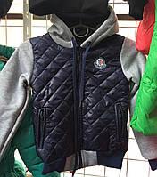 Детская куртка- бомбер демисезонная оптом на 5-8 лет