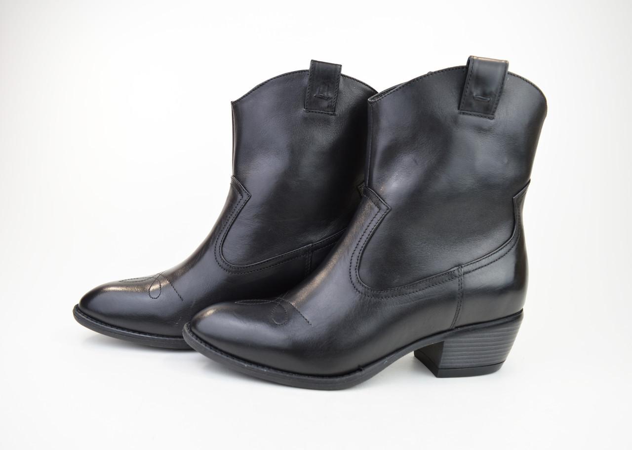 Черевики козачки Corso Vito 1311491 чорні шкіра