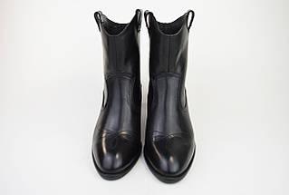 Черевики козачки Corso Vito 1311491 чорні шкіра, фото 3