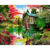 Картина рисование по номерам Babylon Мельница 40х50см VP1159 набор для росписи, краски, кисти, холст