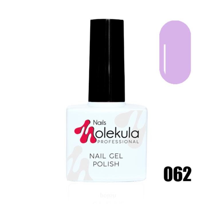 Гель-лак для ногтей Molekula 11мл №062 Лавандовый