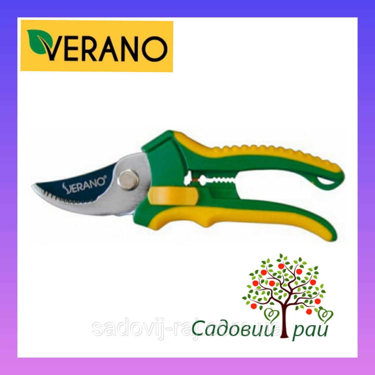 Секатор Verano / Верано  220 мм Косой срез 19мм  (71-809)